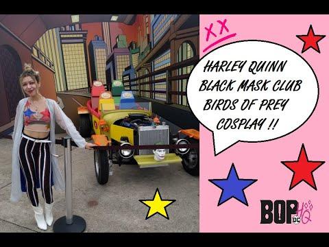 Harley Quinn Birds Of Prey Black Mask Club Cosplay Youtube