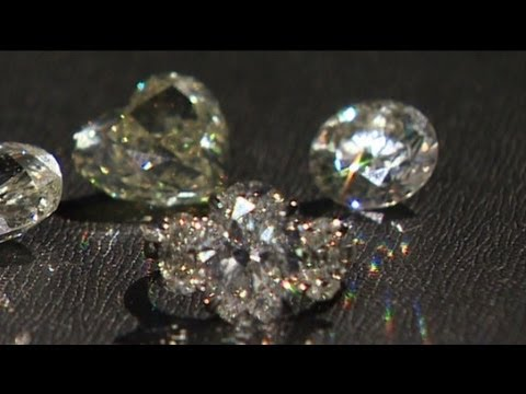Diamonds for investment, love and bling