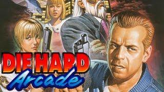 Die Hard Arcade - Full Playthrough and Ending