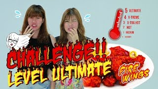 Richeese Fire Wings Challenge - Ria