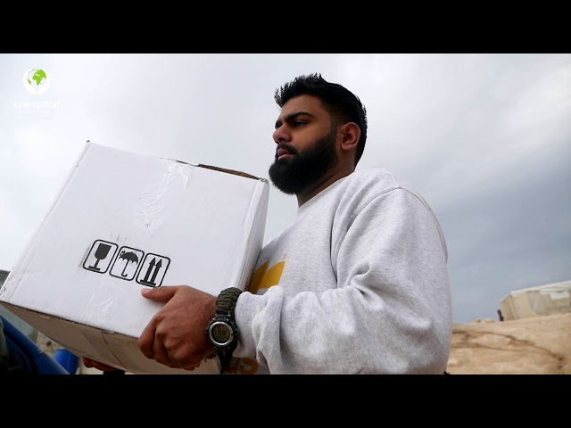 Food Distribution In Syria ~ December 2020