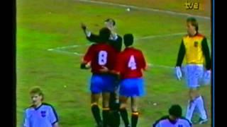 1987 (October 14) Spain 2-Austria 0 (EC Qualifier).avi