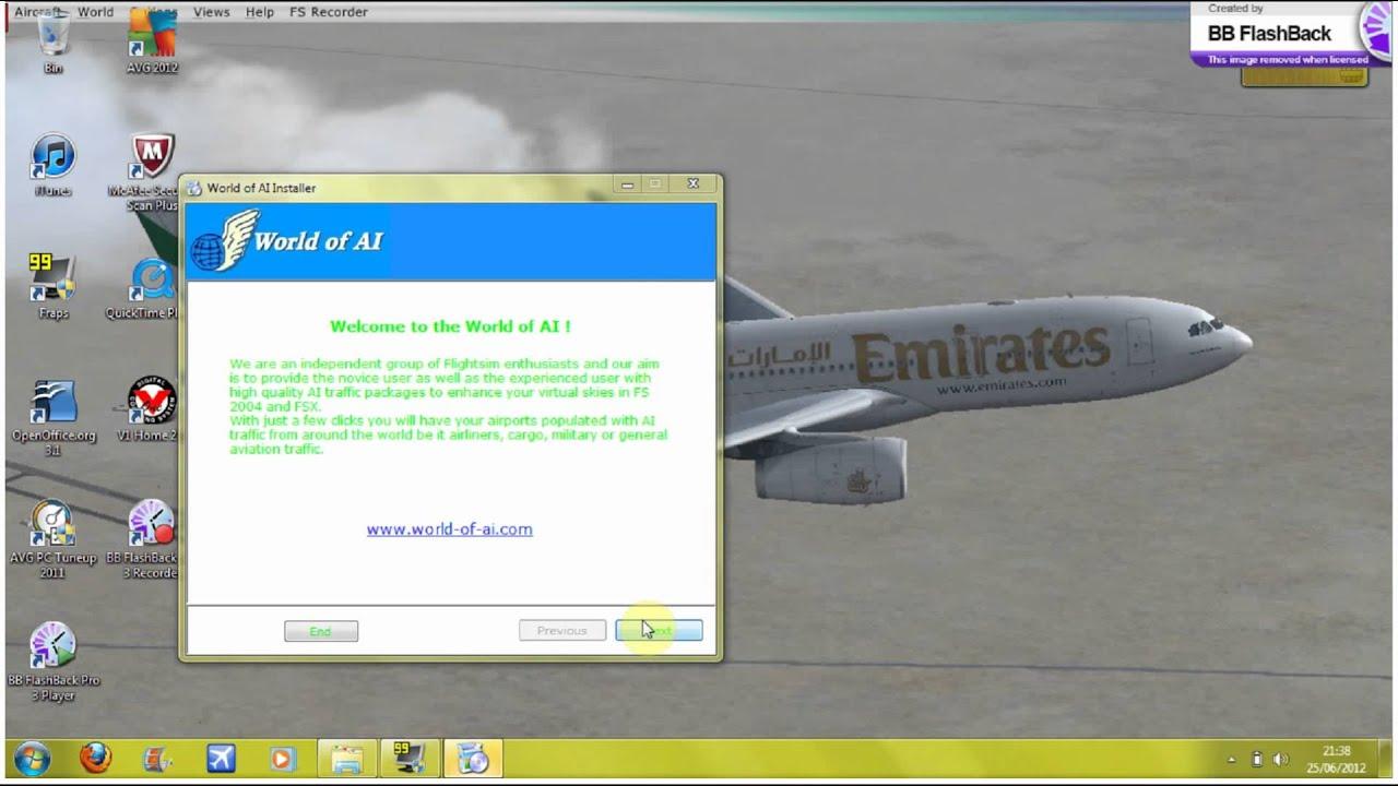 Fs2004 traffic download free