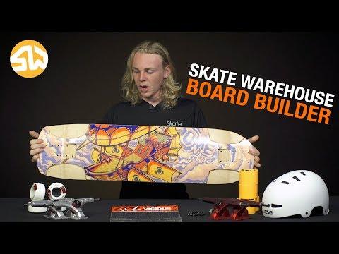 Skate Warehouse Board Builder