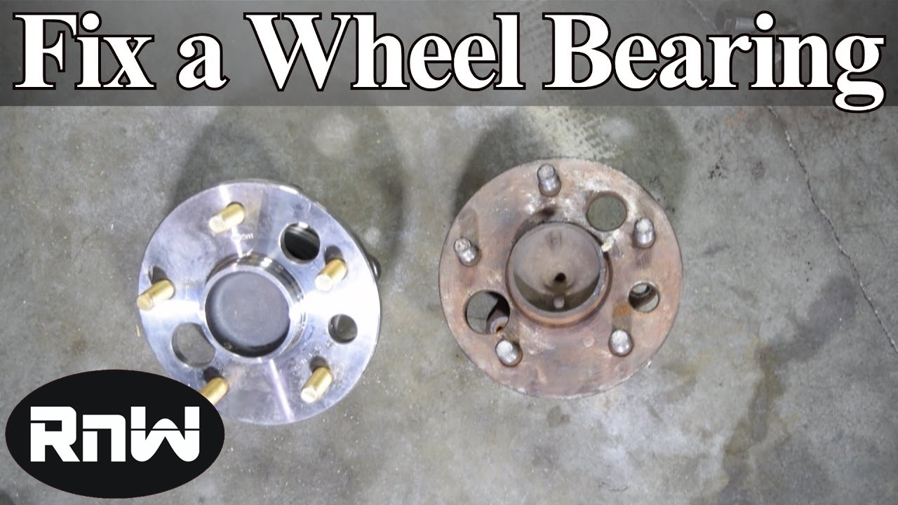 How To Find A Bad Wheel Bearing Plus How To Replace A