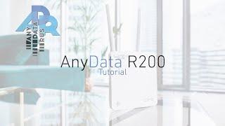 AnyData R200: настройка и решение частых проблем
