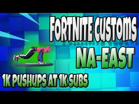 🔴 ☘️ FORTNITE CUSTOMS NA EAST - Have You Tried The Split Screen?