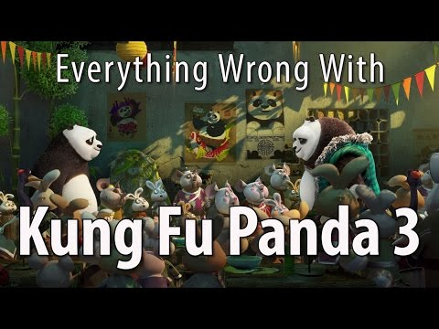 Everything Wrong With Kung Fu Panda 3 In 12 Minutes Or Less: I totally forgot they made a third one of these. Wow. Here are the sins of Kung Fu Panda 3.   Thursday: Sins of a fight movie.   Remember, no movie is without sin! Which movie's sins should we expose next?!  Tweet us: http://twitter.com/cinemasins Tumble us: http://cinema-sins.tumblr.com Podcast: https://soundcloud.com/cinemasins Call us: 405-459-7466 Reddit with us: http://reddit.com/r/cinemasins Jeremy's book now available: http://theablesbook.com