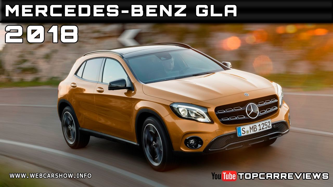 2018 mercedes benz gla review rendered price specs release for Mercedes benz gla release date