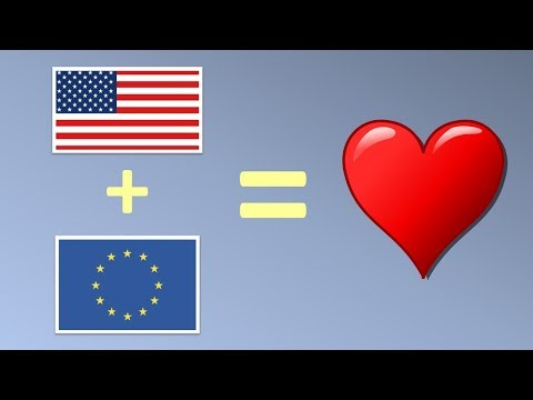 What if the United States of America and the European Union would become one country?
