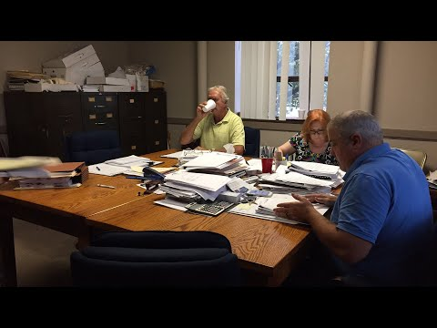 County Board - action on borrowing money for renovation project