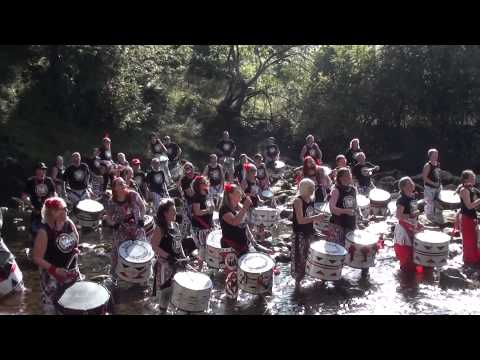 Batala Lancaster Waterfall Drummers Part 1