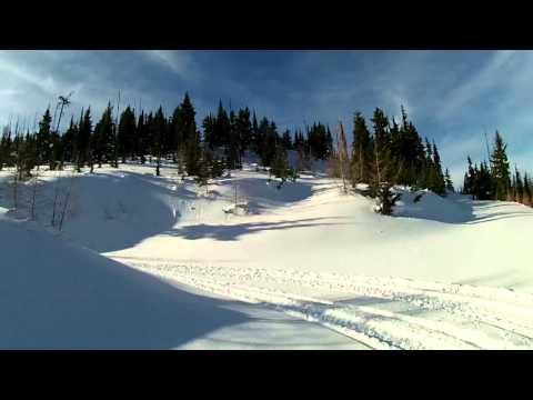 Snowmobiling Avery Idaho January 17, 2014