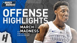 RJ Barrett UNREAL Offense Highlights from 2019 NCAA March Madness! NBA READY!