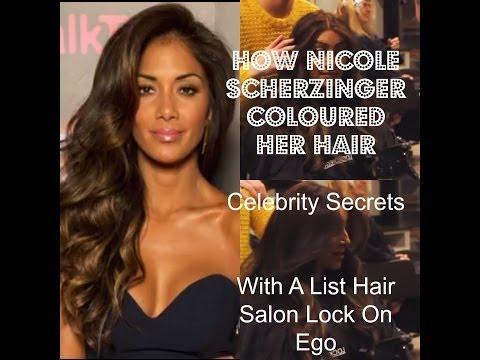 Nicole Scherzinger Hair Colour How To