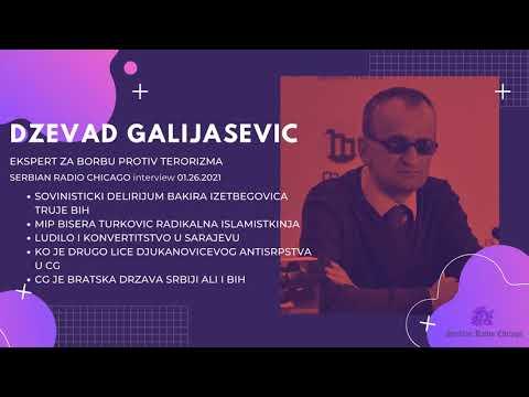 EXCLUSIVE! NEW! SERBIAN RADIO CHICAGO – DZEVAD GALIJASEVIC 01.26.2021
