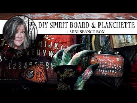 💀DIY Spirit Board💀