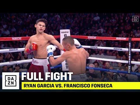 Ryan Garcia VICIOUSLY KOs Francisco Fonseca In Round 1
