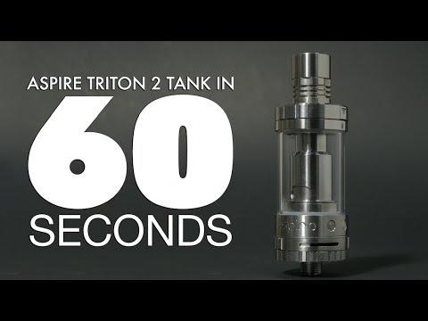 Aspire Triton 2 Tank Review   in 60 Seconds