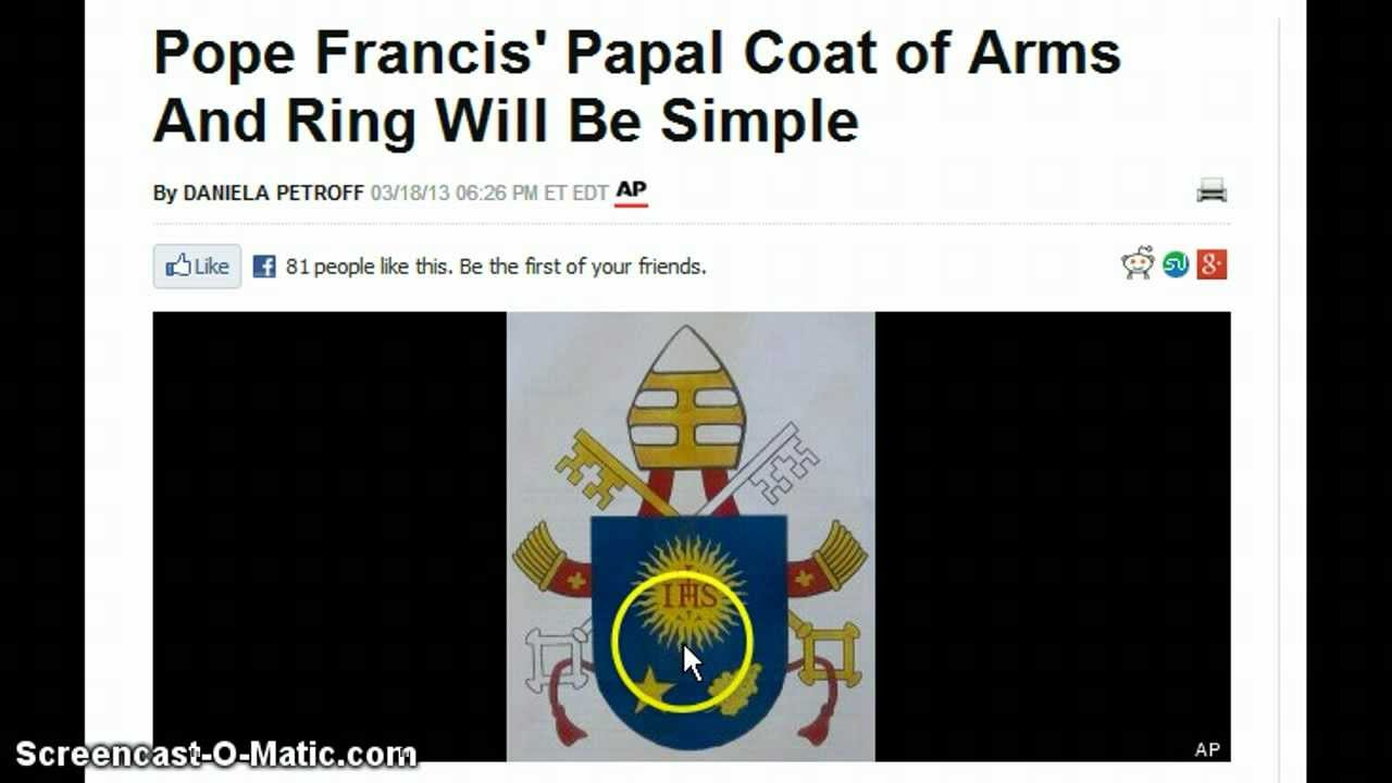 Pope Francis Takes Ring Of Peter 4th Vow Jesuit Pope Francis Takes