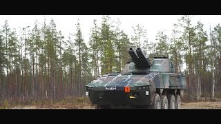 Patria - Amos & Nemo 120mm Advanced Mortar Systems [1080p]