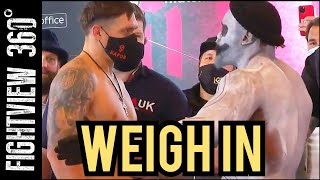 📡🔴 Usyk vs Chisora WEIGH IN & Face Off: Usyk Getting KO'D? Will Selby Kambosos WINNER Get Teofimo?