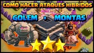 Estrategia en Ataque / Ataque Hibrido / HoGog / Clash Of Clans / COC
