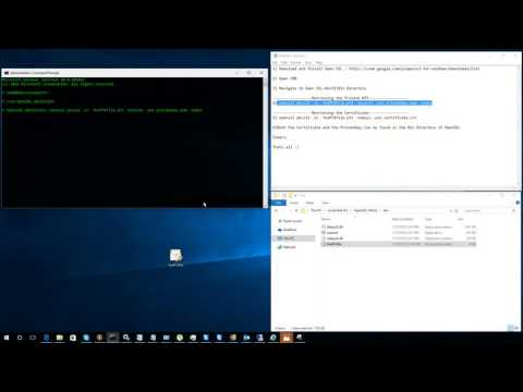Retrieving the Private key and Certificate from a PFX from YouTube · Duration:  46 seconds