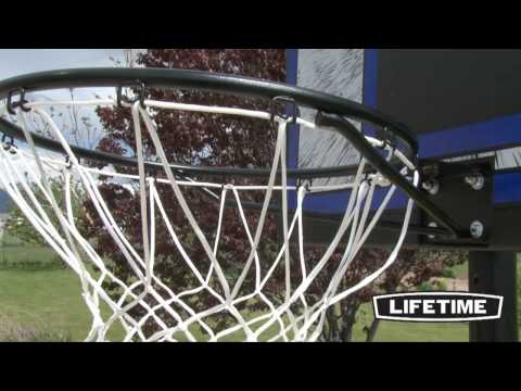 Lifetime Portable Basketball Hoop (Model 1221)