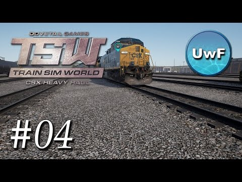 Train Sim World CSX Heavy Haul #04 | Weichen stellen über di