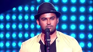The Voice India - Akash Ojha Performance in Blind Auditions