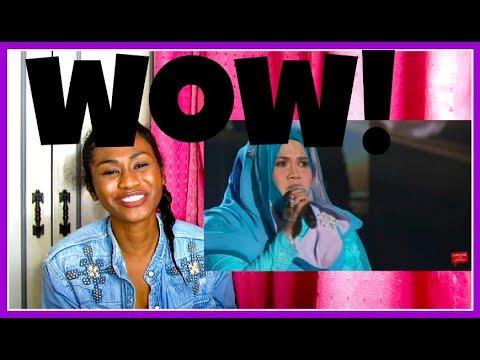 Aishah   Tergantung Sepi | Gegar Vaganza 4 Minggu 6| REACTION