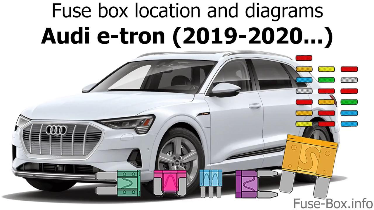 Fuse Box Location And Diagrams  Audi E-tron  2019-2020