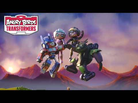 Angry Birds Transformers – Arcee And Airachnid Join The Team!