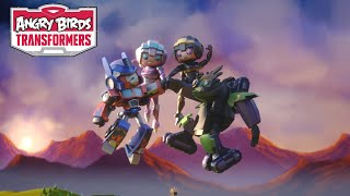 Angry Birds Transformers � Arcee and Airachnid join the team!