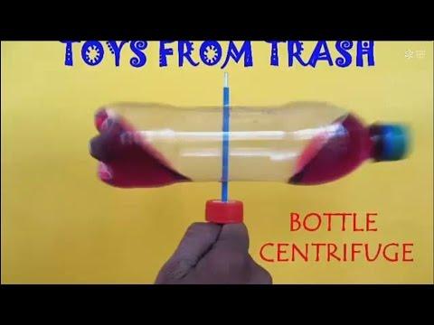 BOTTLE CENTRIFUGE - HINDI - Separate Kerosene from Color Water!