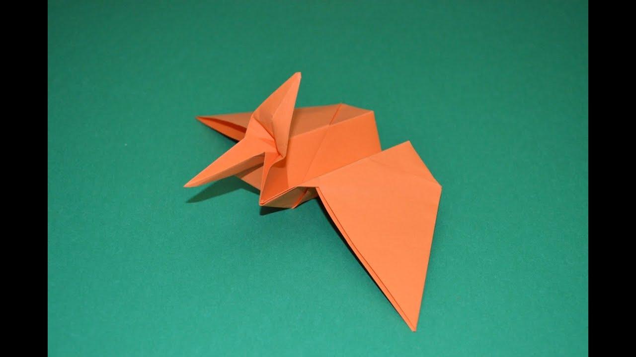 Como hacer un dinosaurio de papel | Pterodactyl - YouTube - photo#14