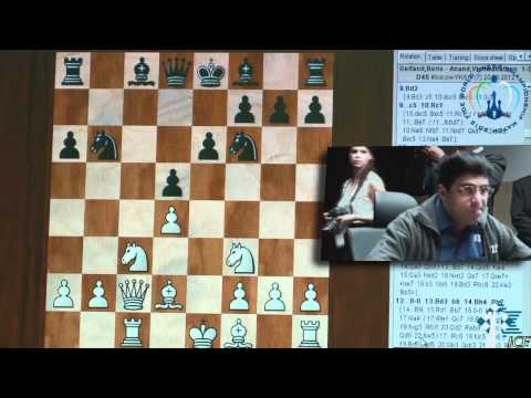 ICF, FWCCM2012, Game7, B.Gelfand vs V. Anand 20/5/2012 (part1)