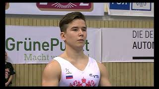 Андрей Маколов на этапе Кубка мира по спортивной гимнастике