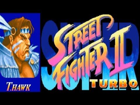 Super Street Fighter II Turbo - T.Hawk (Arcade)