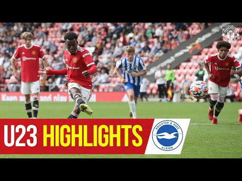 U23 Highlights |  Manchester United 2-1 Brighton & Hove Albion |  The academy