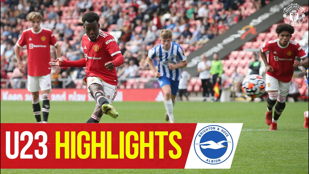 U23 Highlights   Manchester United 2-1 Brighton & Hove Albion   The Academy