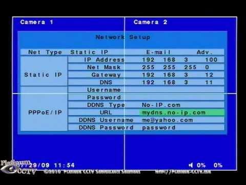 no ip configuration dvr
