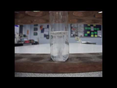 The Reaction Of Calcium Metal And Water