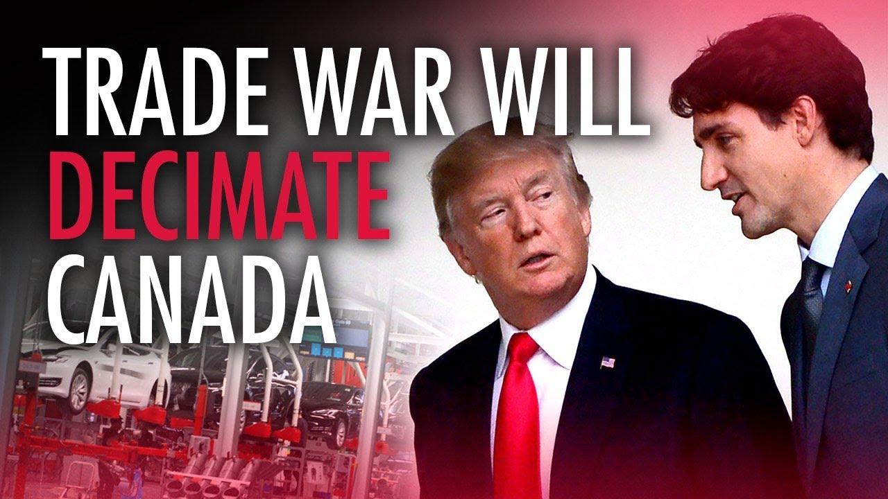 Image result for trump trudeau trade war