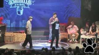 Papo MC vs Wolf - Batalla de los Gallos Red Bull 2013 Semifinal Argentina