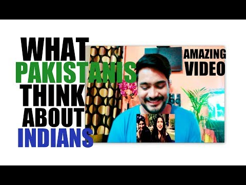 "Indian Reaction on ""What Pakistanis Think About India & Indians"" By Pakistani Entertainers"