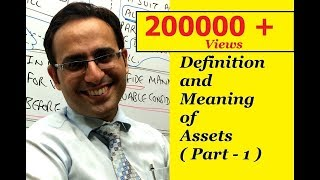 Basic Accounting Terms (Video-1) What are Assets? (Part-1) thumbnail