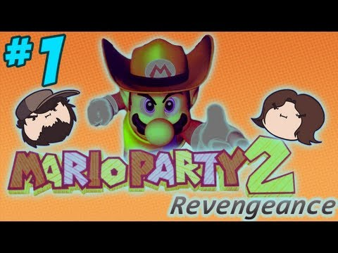 Mario Party 2 Revengeance: To the Desert - PART 1 - Game Grumps VS