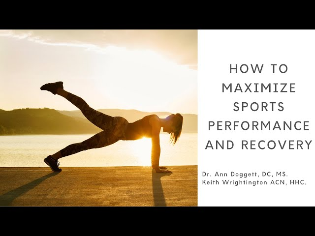 Improve Your Athletic Performance and Recovery